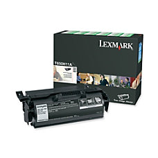 Lexmark T650H11A High Yield Black Toner