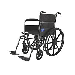Medline Basic Wheelchair With Detachable Footrest