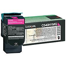 Lexmark C540H1MG Return Program Magenta Toner