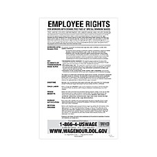 ComplyRight Federal Contractor Posters English Notice