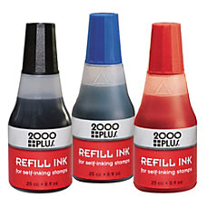 2000 PLUS Self Inking Stamp Refill