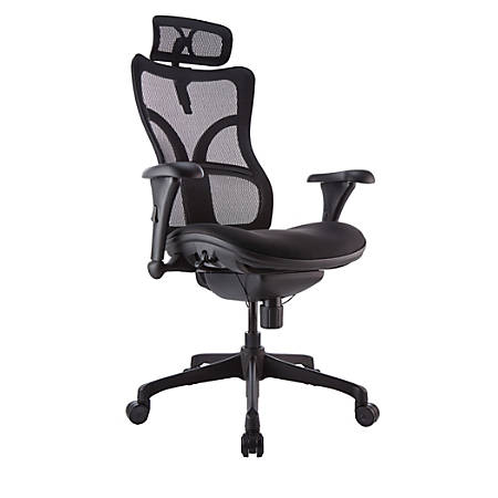 WorkPro® Warrior 212 Series Chair, High-Back, Black