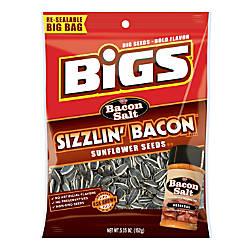 Bigs Sunflower Seeds Bacon Salt Sizzlin