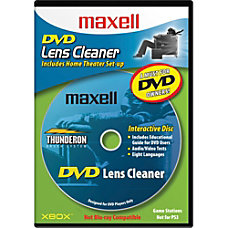 Maxell DVD LC DVD Lens Cleaner