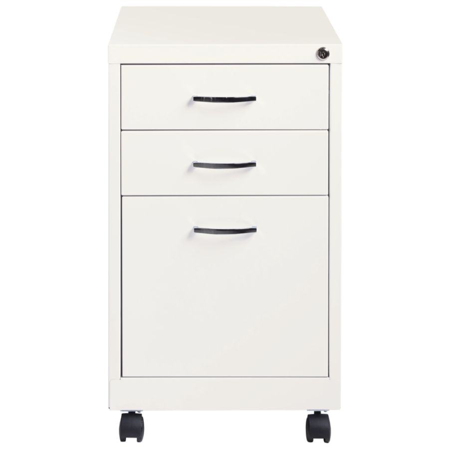 Lovely Lorell 3 Drawer Lateral File Cabinet