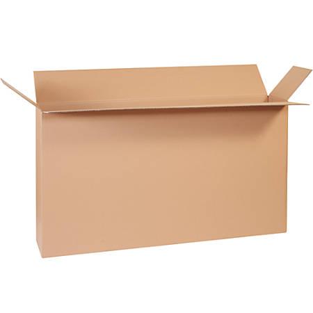 "Office Depot® Brand Side-Loading Boxes, 28""H x 8""W x 54""D, Kraft, Bundle Of 5"