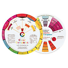 Grumbacher Dual sided Color wheel 1