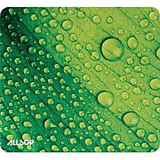 Allsop NatureSmart Image Mousepad Leaf Raindrop