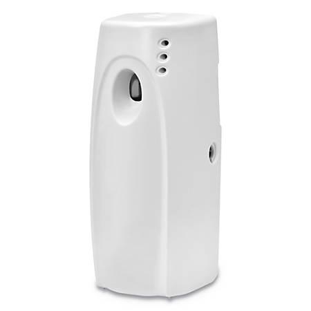 "Fresh Products Fusion Metered Aerosols Dispenser, 11 3/4""H x 7 3/4""W x 8 7/8""D, White"