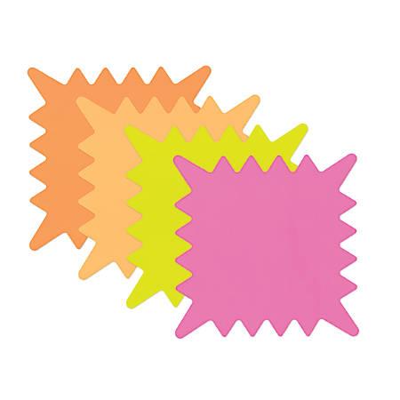 "Cosco® Die-Cut Paper Sign, 5 1/4"" x 5 1/4"", Multicolor"