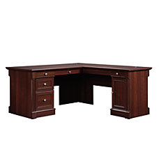 Sauder Palladia Collection L Shaped Desk