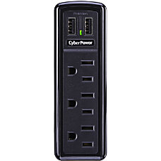 CSP300WU 3 Outlet Professional Surge Suppressor