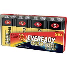 Eveready Gold Alkaline 9 Volt Batteries
