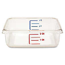 Rubbermaid Commercial Space Saving Square Container
