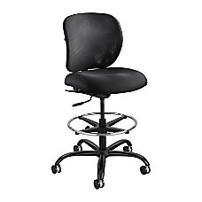 Safco Vue Heavy Duty Stool Black