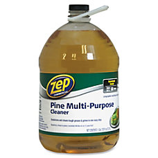 Zep Commercial Multipurpose Pine Cleaner Concentrate