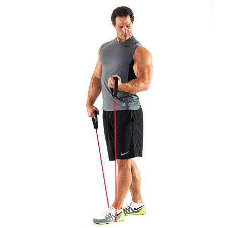 "Black Mountain Products New Strong Man Resistance Bands, 48"" Long, Assorted Colors, Set Of 6"