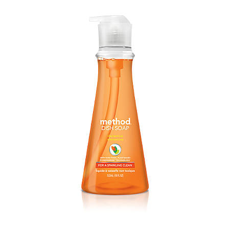 Method™ Dish Soap, Clementine, 18 Oz.