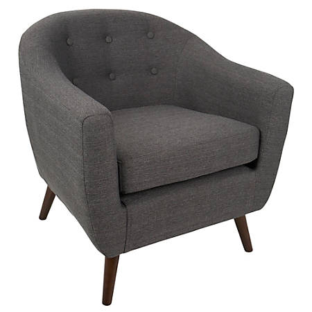 Lumisource Rockwell Chair, Espresso/Espresso