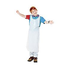 Baumgartens Childrens Disposable Aprons White 16