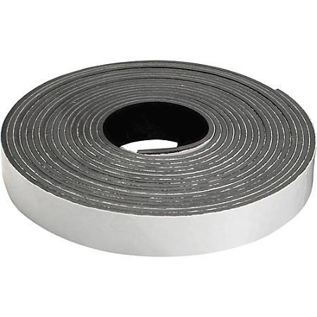 "Zeus Magnetic Tape Refill - 0.50"" Width x 15 ft Length - 1 / Roll - Black"