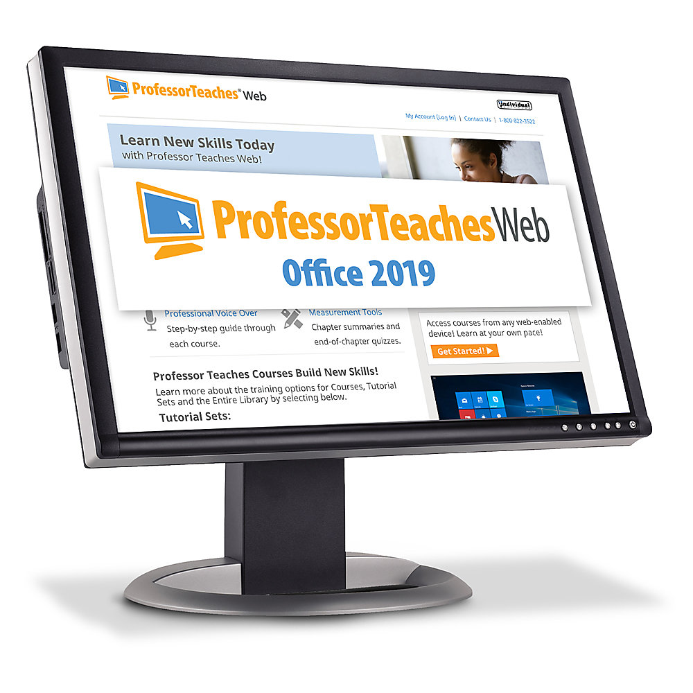 Professor Teaches Web - Office 2019 Annual Subscription