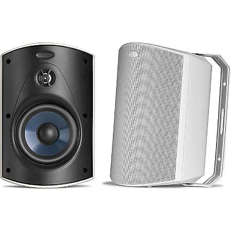Polk Audio Atrium5 All-Weather Outdoor Speakers, White, Pair, ATRIUM5WH