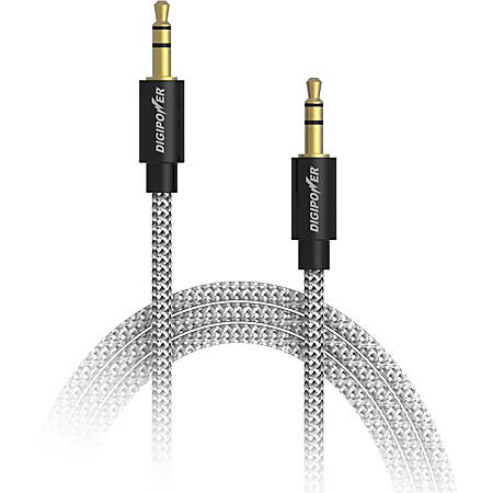 DigiPower Audio Cable - 3.30 ft Audio Cable for Audio Device