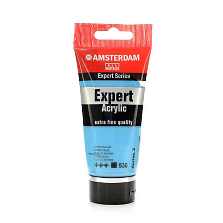 Amsterdam Expert Acrylic Paint Tubes, 75 mL, Sevres Blue, Pack Of 2
