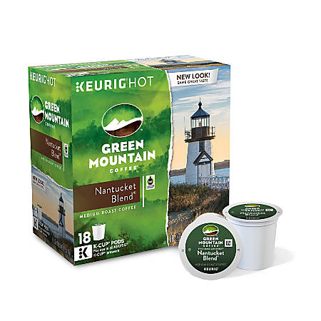 Green Mountain Coffee® Nantucket Blend Coffee K-Cup® Pods, Box Of 18 Pods