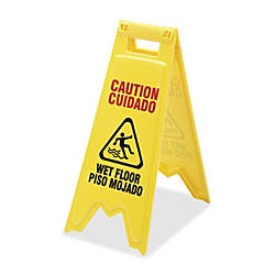 SKILCRAFT Wet Floor Sign