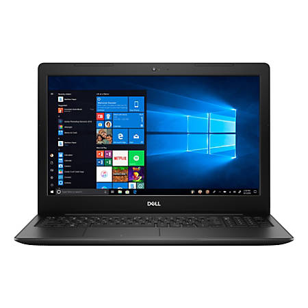 "Dell™ Inspiron 15 3585 Laptop, 15.6"" Touch Screen, AMD Ryzen 3, 8GB Memory, 256GB Solid State Drive, Windows® 10, I3585-A893BLK-PUS"