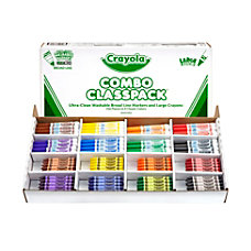 Crayola Large Size Crayons And Washable