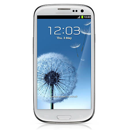 Samsung Galaxy S3 I747 Cell Phone, White, PSN100233