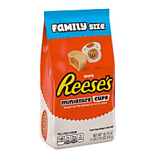Reeses Miniatures White Peanut Butter Cups