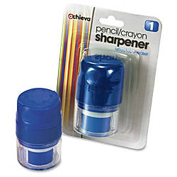 OIC Twin PencilCrayon Sharpener with Cap