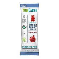 Yummy Earth Pomegranate Pucker Gummy Bears