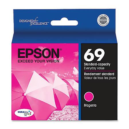 Epson® 69, (T069320-S) DuraBrite® Ultra Magenta Ink Cartridge