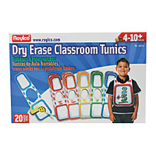 Roylco Dry Erase Classroom Tunics 8