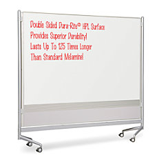 Best Rite Mobile Dry Erase Double
