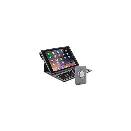 low priced 27d3f 8c9a6 OtterBox Agility Tablet System Keyboard Portfolio + Shell + Wall Mount -  Keyboard and folio case - Bluetooth - for Apple iPad Air 2 Item # 881747