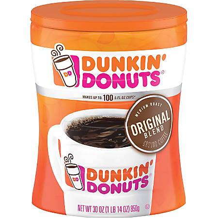 Dunkin' Donuts® Original Blend Ground Coffee, 30 Oz Bag