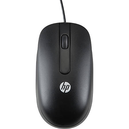 HP USB Laser Mouse, Black