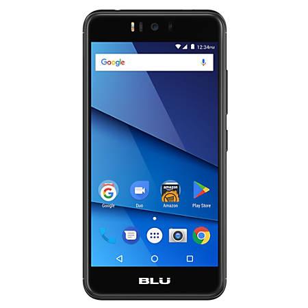 BLU R2 R010P Cell Phone, Black, PBN201285