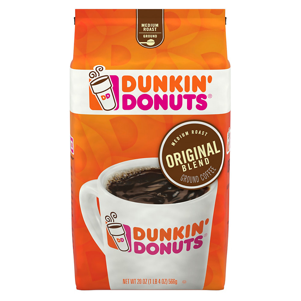 Wake up with your favorite donut shop coffee in the comfort of your own home. Whether you're brewing a whole pot or a cup just for you, this coffee delivers that rich, familiar flavor you love.  Light/medium roast delivers the aromatic flavor of a donut shop brew.  Ground coffee is designed for use in a variety of coffeemakers.  Resealable bag helps preserve freshness and enables hassle-free storage.
