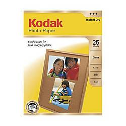 Kodak Photo Paper Glossy 8 12