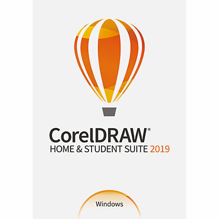 CorelDRAW® Home & Student Suite 2019, Traditional Disc Item # 8822118