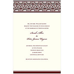 gartnerstudios com invitation templates - gartner studios invitation kit chocolateivory scroll