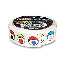 Creativity Street Wiggle Eyes Stickers Self