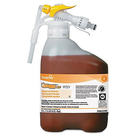 SC Johnson® Stride® Neutral Cleaner, Citrus, 169.6 Oz